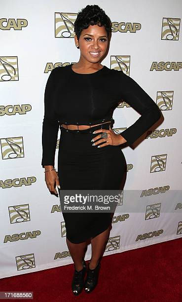 Recording artist RaVaughn Brown attends The American Society of Composers Authors and Publishers 26th Annual Rhythm Soul Music Awards at The Beverly...