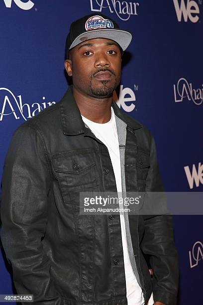Recording artist Ray J attends WE tv's LA Hair Season 3 Premiere Event on May 21 2014 in Santa Monica California