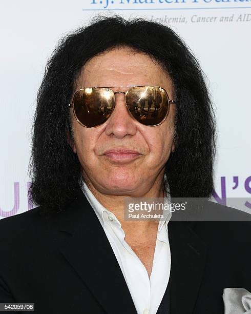 Recording Artist / Reality TV Personality Gene Simmons attends the Women Of Influence Awards at The Wilshire Ebell Theatre on June 21 2016 in Los...