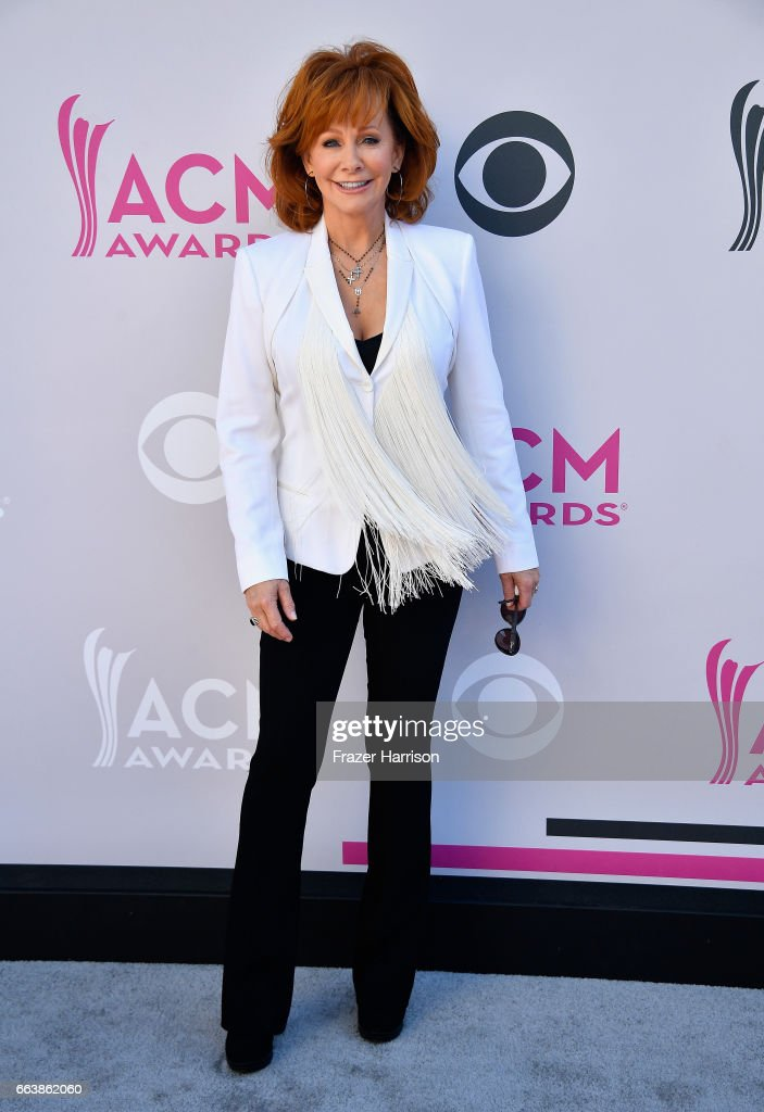 Recording artist Reba McEntire attends the 52nd Academy Of Country Music Awards at Toshiba Plaza on April 2, 2017 in Las Vegas, Nevada.