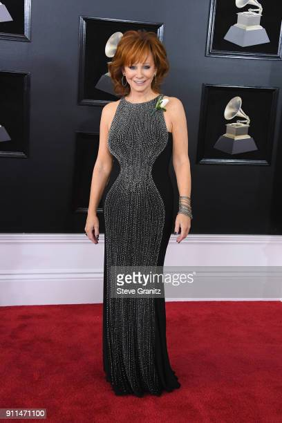 Recording artist Reba McEntire attends the 60th Annual GRAMMY Awards at Madison Square Garden on January 28 2018 in New York City
