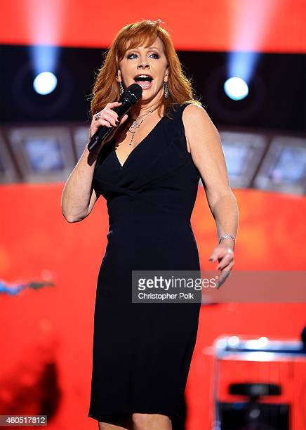 Recording artist Reba performs onstage at the 2014 American Country Countdown Awards at Music City Center on December 15 2014 in Nashville Tennessee