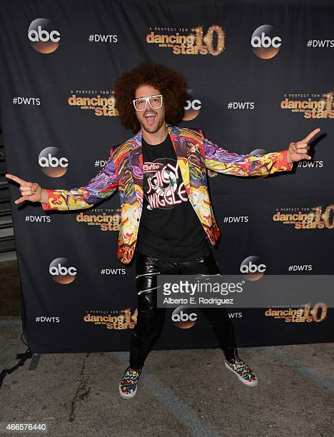 Recording artist Redfoo attends the premiere of ABC's Dancing With The Stars season 20 at HYDE Sunset Kitchen Cocktails on March 16 2015 in West...