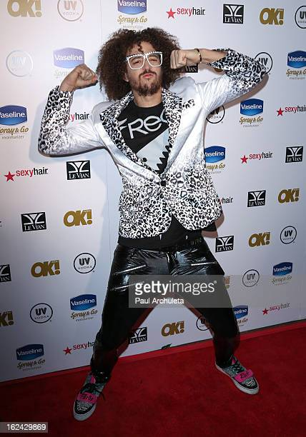 Recording Artist Redfoo of LMFAO attends OK Magazine's PreOscar party at The Emerson Theatre on February 22 2013 in Hollywood California
