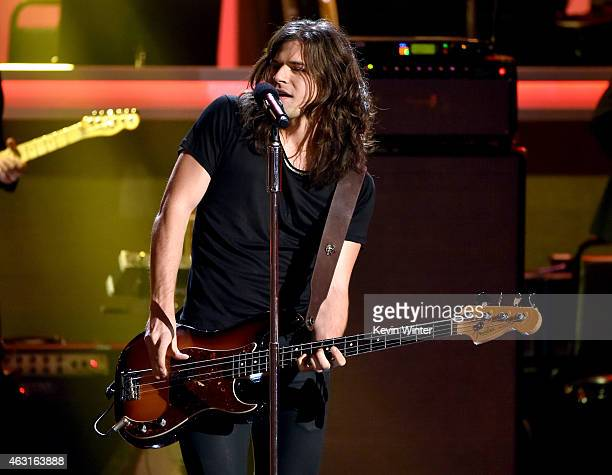 Recording artist Reid Perry of music group The Band Perry performs onstage during Stevie Wonder Songs In The Key Of Life An AllStar GRAMMY Salute at...