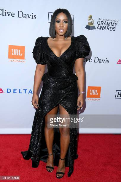 Recording artist Remy Ma attends the Clive Davis and Recording Academy PreGRAMMY Gala and GRAMMY Salute to Industry Icons Honoring JayZ on January 27...