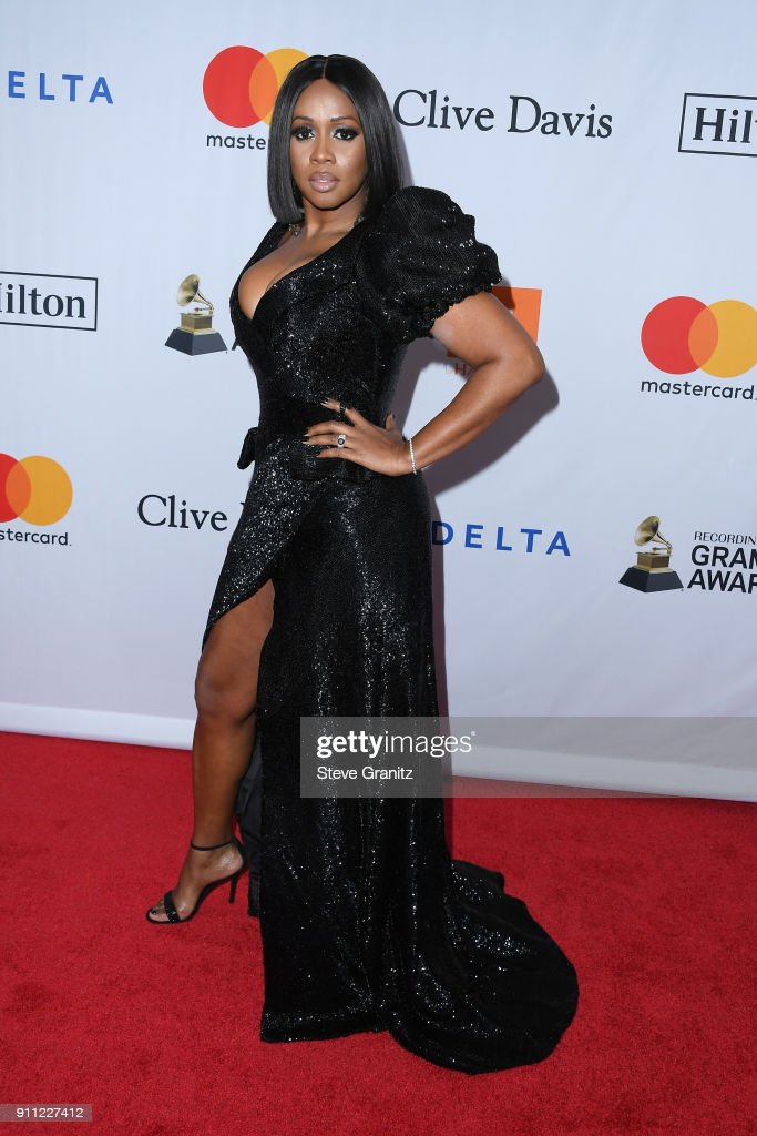 Recording artist Remy Ma attends the Clive Davis and Recording Academy Pre-GRAMMY Gala and GRAMMY Salute to Industry Icons Honoring Jay-Z on January 27, 2018 in New York City.