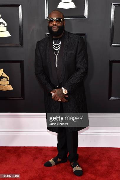 Recording artist Rick Ross attends The 59th GRAMMY Awards at STAPLES Center on February 12 2017 in Los Angeles California