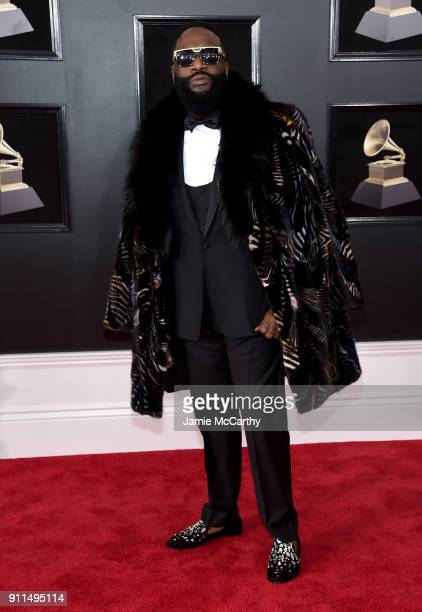 Recording artist Rick Ross attends the 60th Annual GRAMMY Awards at Madison Square Garden on January 28 2018 in New York City