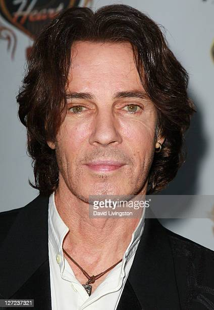 Recording artist Rick Springfield attends a screening of 'An Affair of the Heart' at the Malibu Jewish Center on September 26 2011 in Malibu...