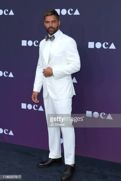 Recording artist Ricky Martin attends the MOCA Benefit 2019 at The Geffen Contemporary at MOCA on May 18 2019 in Los Angeles California