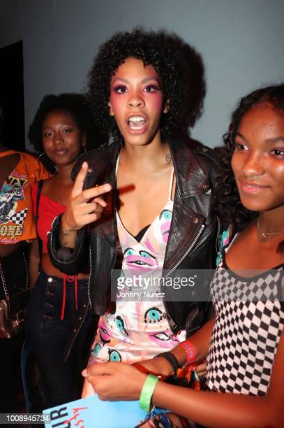Recording artist Rico Nasty attends SOB's on July 31 2018 in New York City