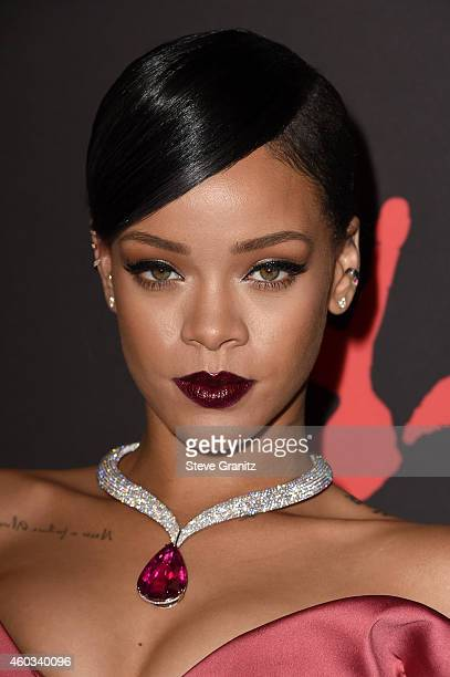 Recording artist Rihanna attends Rihanna's First Annual Diamond Ball at The Vineyard on December 11, 2014 in Beverly Hills, California.