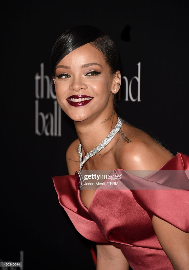 Recording artist Rihanna attends Rihanna's First Annual Diamond Ball at The Vineyard on December 11, 2014 in Beverly Hills, California.