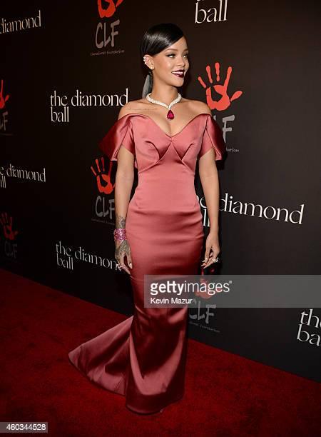 Recording artist Rihanna attends Rihanna's First Annual Diamond Ball at The Vineyard on December 11 2014 in Beverly Hills California