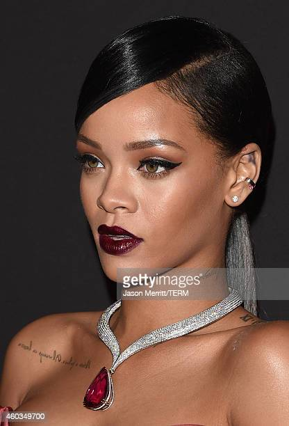 Recording artist Rihanna attends Rihanna's First Annual Diamond Ball at The Vineyard on December 11 2014 in Beverly Hills California
