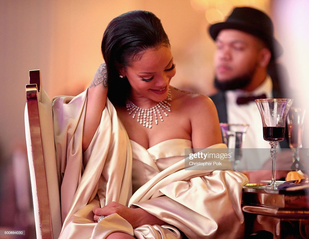 pimpandhost.com uploaded on  2015  Recording artist Rihanna attends the 2nd Annual Diamond Ball hosted by  Rihanna and The Clara Lionel