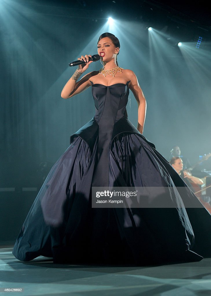 Rihanna and The Clara Lionel Foundation Presents The Inaugural Diamond Ball - Inside : News Photo