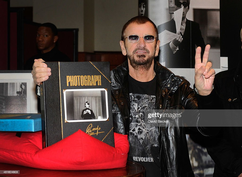 "Ringo Starr Exhibit For New Book ""Photograph"""