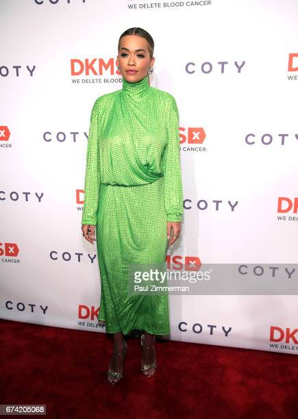 Recording artist Rita Ora attends the 11th Annual DKMS Big Love Gala at Cipriani Wall Street on April 27 2017 in New York City