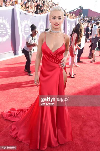 Recording artist Rita Ora attends the 2014 MTV Video Music Awards at The Forum on August 24 2014 in Inglewood California