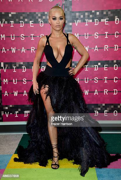 Recording artist Rita Ora attends the 2015 MTV Video Music Awards at Microsoft Theater on August 30 2015 in Los Angeles California