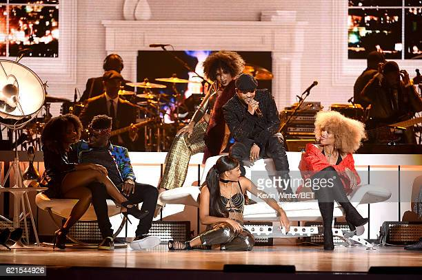 Recording artist Ro James performs onstage during the 2016 Soul Train Music Awards on November 6 2016 in Las Vegas Nevada