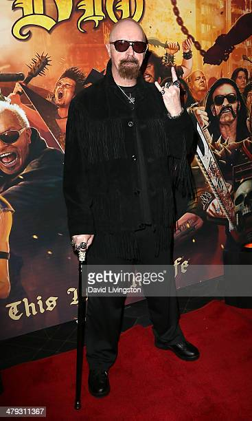 Recording artist Rob Halford attends the 3rd Annual Watch Awards Gala at Avalon on March 17 2014 in Hollywood California