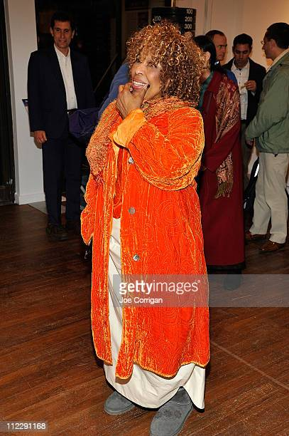Recording artist Roberta Flack attends the Feats of Strength PopUp Museum Opening Night Reception at 18 Jay Street on April 15 2011 in New York City