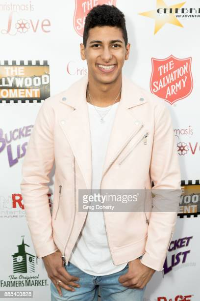 Recording Artist Roger Neal attends The Salvation Army Celebrity Kettle Kickoff Red Kettle Hollywood at the Original Farmers Market on November 30...