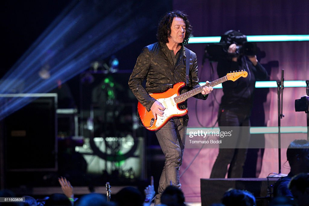 Recording artist Roland Orzabal of music group Tears for Fears performs on stage during the iHeart80s Party 2016 at The Forum on February 20, 2016 in Inglewood, California.