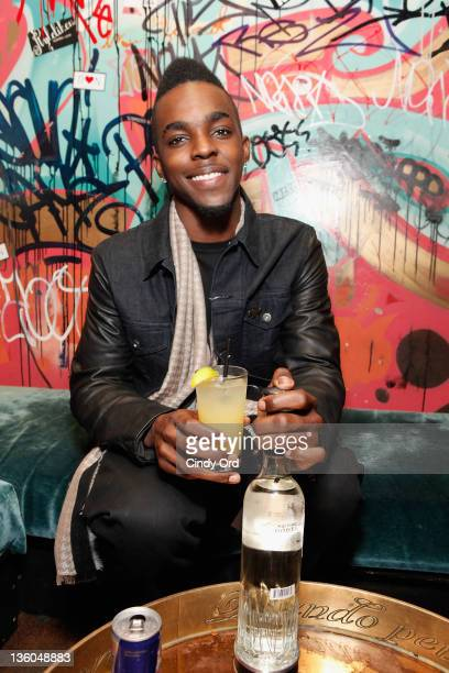 Recording artist Roscoe Dash attends the VIBE Roscoe Dash JUICE 2011 holiday party at Gold Bar on December 20 2011 in New York City