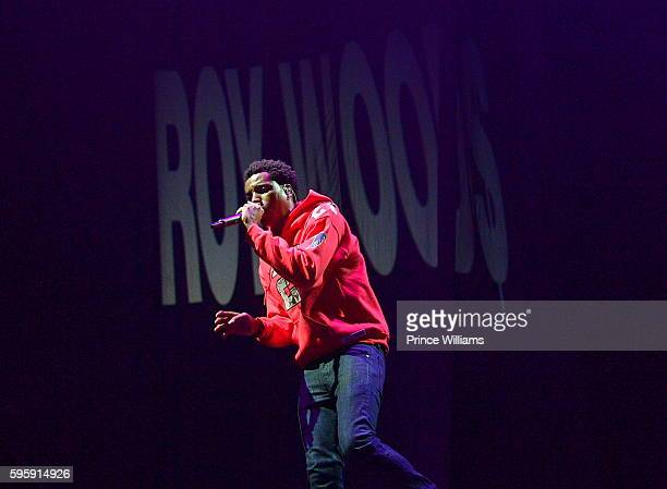 Recording Artist Roy Woods performs at the Summer 16 Tour at Philips Arena on August 25 2016 in Atlanta Georgia