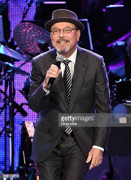 Recording artist Ruben Blades performs onstage during the 2014 Person of the Year honoring Joan Manuel Serrat at the Mandalay Bay Events Center on...