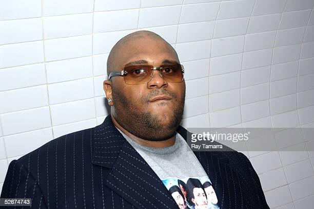 Recording artist Ruben Studdard poses for photos at Sister 2 Sister's Sweet 16th Gala at Crobar April 20 2005 in New York City