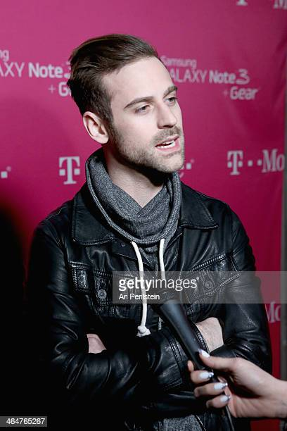 Recording artist Ryan Lewis attends Macklemore & Ryan Lewis presented by T-Mobile at Belasco Theatre on January 23, 2014 in Los Angeles, California.