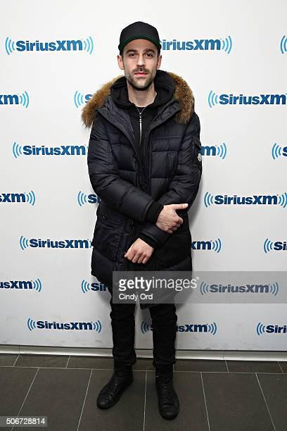 Recording artist Ryan Lewis visits the SiriusXM Studios on January 25, 2016 in New York City.