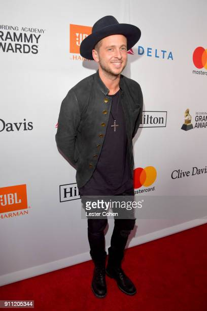 Recording artist Ryan Tedder of OneRepublic attends the Clive Davis and Recording Academy PreGRAMMY Gala and GRAMMY Salute to Industry Icons Honoring...