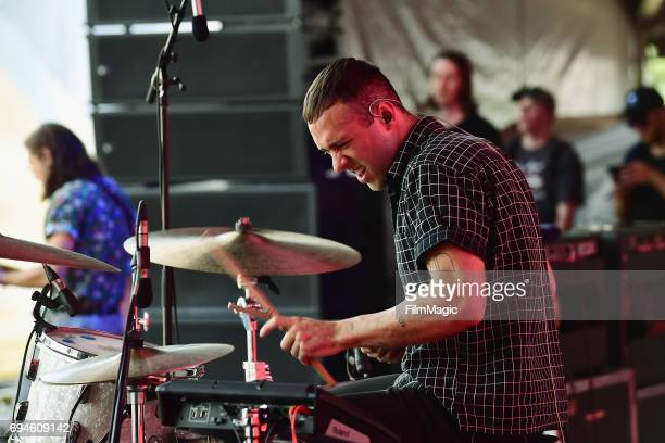 Recording artist Ryan Winnen of Coin perform onstage at Which Stage during Day 3 of the 2017 Bonnaroo Arts And Music Festival on June 10, 2017 in...