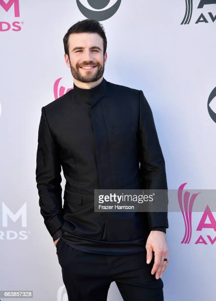 Recording artist Sam Hunt attends the 52nd Academy Of Country Music Awards at Toshiba Plaza on April 2 2017 in Las Vegas Nevada