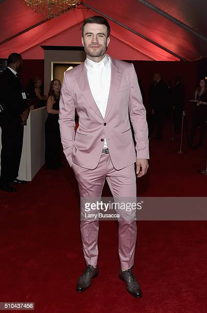 Recording artist Sam Hunt attends The 58th GRAMMY Awards at Staples Center on February 15 2016 in Los Angeles California