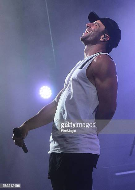 Recording artist Sam Hunt performs onstage at This Tent during Day 3 of the 2016 Bonnaroo Arts And Music Festival on June 11 2016 in Manchester...