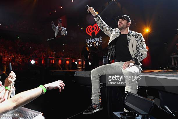 Recording artist Sam Hunt performs onstage during the 2016 iHeartCountry Festival at The Frank Erwin Center on April 30 2016 in Austin Texas
