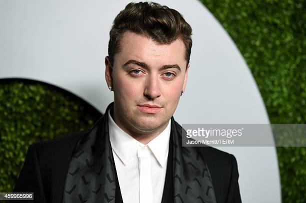 Recording artist Sam Smith attends the 2014 GQ Men Of The Year party at Chateau Marmont on December 4 2014 in Los Angeles California
