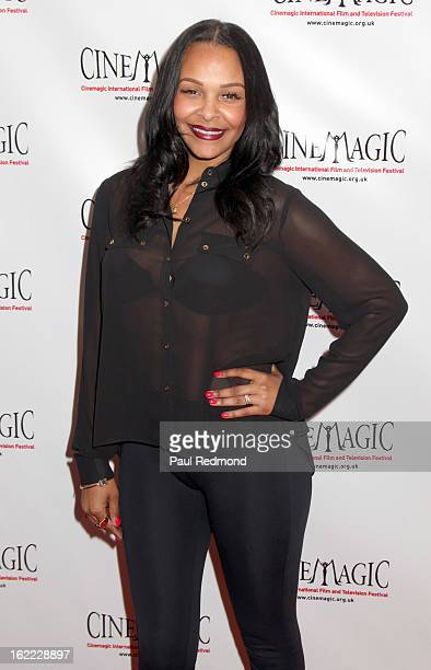 Recording artist Samantha Mumba arrives at the 4th Annual LA Cinemagic International Film And Television Festival opening reception at the Fairmont...