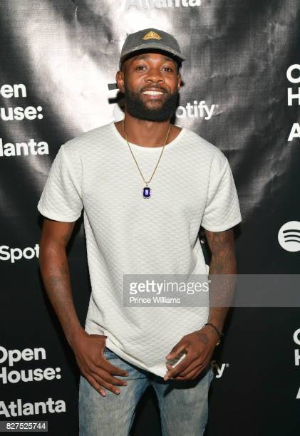 Recording Artist Sammie attends the Spotify Open House Mixer at The Gathering Spot on August 7 2017 in Atlanta Georgia