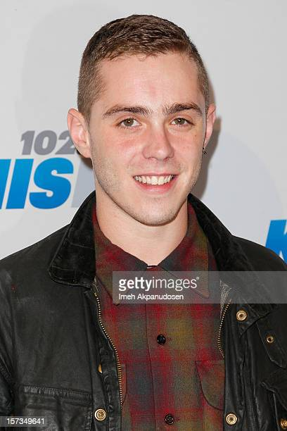 Recording artist Sammy Adams attends KIIS FM's 2012 Jingle Ball at Nokia Theatre LA Live on December 1 2012 in Los Angeles California