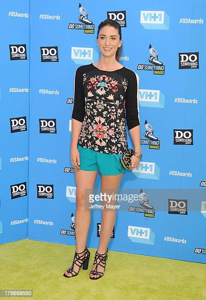 Recording artist Sara Bareilles arrives at the DoSomethingorg and VH1's 2013 Do Something Awards at Avalon on July 31 2013 in Hollywood California