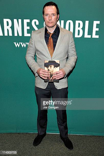 Recording artist Scott Weiland promotes his new book 'Not Dead Not For Sale' at Barnes Noble Union Square on May 17 2011 in New York City
