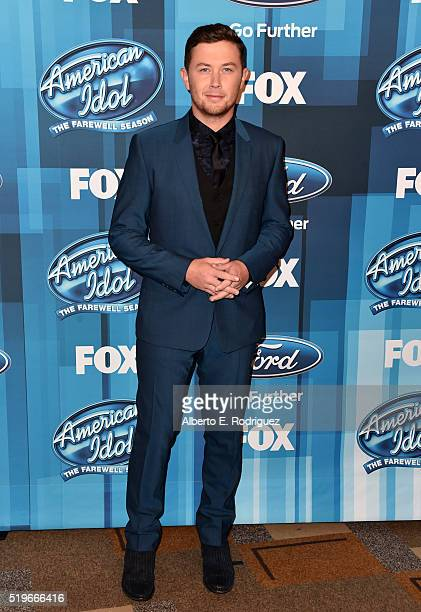 Recording artist Scotty McCreery attends FOX's American Idol Finale For The Farewell Season at Dolby Theatre on April 7 2016 in Hollywood California